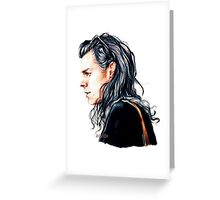 Mr curly styles Greeting Card