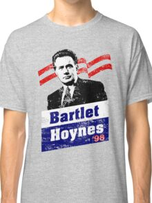 Bartlet/Hoynes '98 - West Wing Campaign T-Shirt Classic T-Shirt