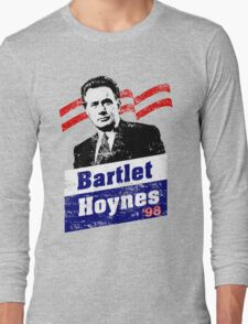 Bartlet/Hoynes '98 - West Wing Campaign T-Shirt Long Sleeve T-Shirt