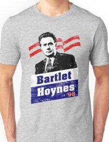 Bartlet/Hoynes '98 - West Wing Campaign T-Shirt Unisex T-Shirt