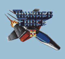 Thunder Force 2 (Genesis) Title Screen Kids Tee