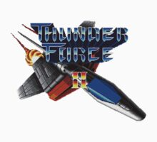 Thunder Force 2 (Genesis) Title Screen One Piece - Long Sleeve
