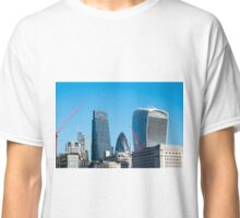 City of London Three Famous Buildings  Classic T-Shirt