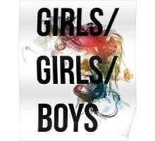 Girls/Girls/Boys Panic! At The Disco Poster