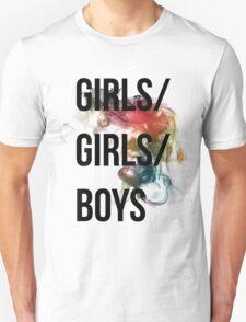 Girls/Girls/Boys Panic! At The Disco Unisex T-Shirt