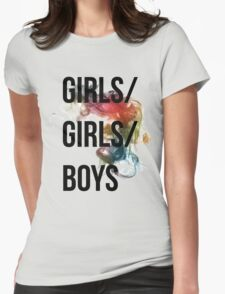 Girls/Girls/Boys Panic! At The Disco Womens Fitted T-Shirt