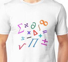 """""""Random Math"""" word art Unisex T-Shirt"""