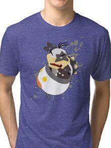 Morton - Super Smash Bros Tri-blend T-Shirt