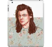 floral Harry iPad Case/Skin