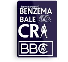 BBC Real Madrid Metal Print