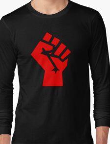 Socialist Fist Long Sleeve T-Shirt