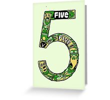 Five Greeting Card