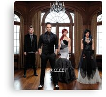 Skillet Rise Band by bas Canvas Print
