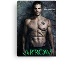 TV SERIES ARROW by bas Canvas Print