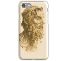 Vincenzo Gemito HEAD OF A BEARDED MAN iPhone Case/Skin