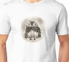 Little Owl Sitting In a Hollow Unisex T-Shirt