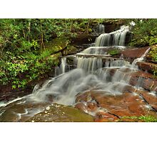 Somersby Falls .. Misty Flow Photographic Print