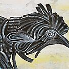 Black Rooster by Ethna Gillespie