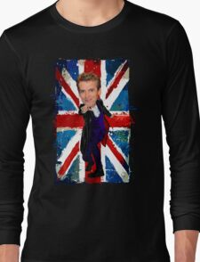 12th Doctor Egg Head Caricature T-Shirt