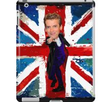 12th Doctor Egg Head Caricature iPad Case/Skin