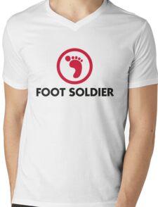 I am a foot soldier Mens V-Neck T-Shirt