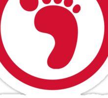 I am a foot soldier Sticker
