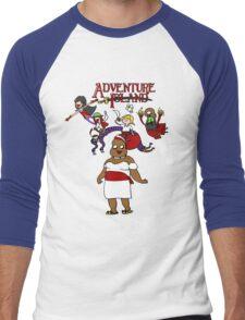 Adventure Island Men's Baseball ¾ T-Shirt