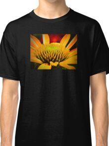 Macro Cone Flower Classic T-Shirt