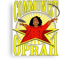 Communist Oprah Canvas Print