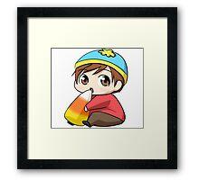 Cartman Framed Print