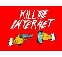 KILL THE INTERNET Photographic Print