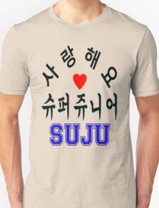 ♥♫SaRangHaeYo(I Love You) K-Pop Boy Band-Super Junior Clothes & Phone/iPad/Laptop/MackBook Cases/Skins & Bags & Home Decor & Stationary♪♥ Unisex T-Shirt