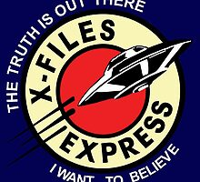 X Files Express by Phasma