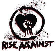 Rise against - metal music Photographic Print