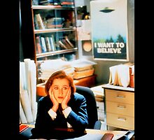 DANA SCULLY x files by Phasma