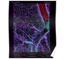 New York NY Ithaca West 130082 1969 24000 Inverted Poster