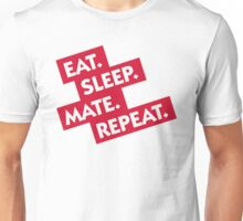 Essen. Sleeping. Multiply. Repeat. Unisex T-Shirt
