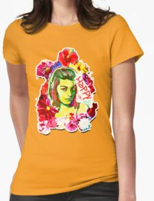 Beautiful Flower hippy girl T-Shirt