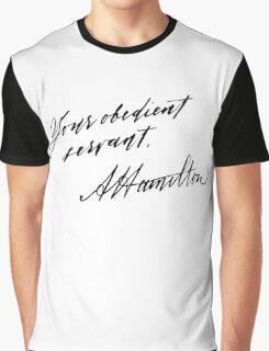 Your Obedient Servant, A. Ham Graphic T-Shirt