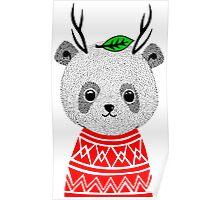 My Dear Deer Panda Poster