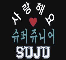 ㋡♥♫SaRangHaeYo(I Love You) K-Pop Boy Band-Super Junior Clothing & Stickers♪♥㋡ by Fantabulous