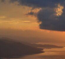 Gokova Sunset and Storm Clouds Sticker
