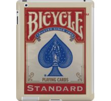 Bicycle Playing Cards - Standard iPad Case/Skin