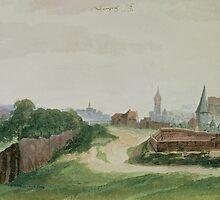 Albrecht Durer, (), VIEW OF NUREMBERG by Adam Asar