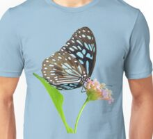 Butterfly 4- Blue triangle Unisex T-Shirt