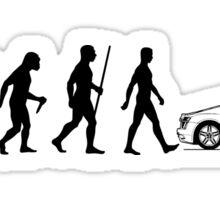 Evolution of Man - Audi R8/R10 Sticker