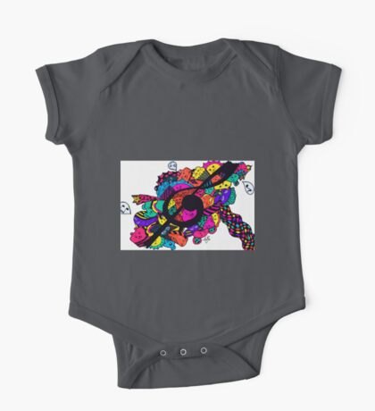 Musical Doodle One Piece - Short Sleeve