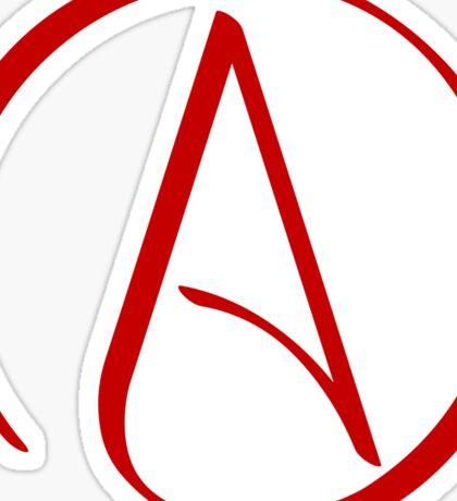 Atheist Symbol Sticker