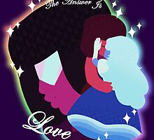 Steven Universe - The Answer Is Love by RileyOMalley