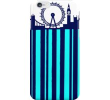 BARCODED IN LONDON iPhone Case/Skin